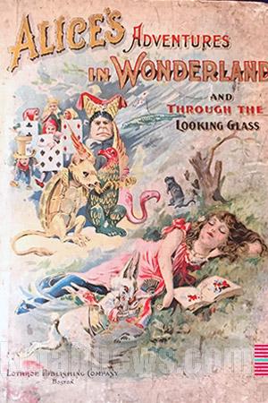 طرح جلد طرح روی جلد آلیس در سرزمین عجایب [Alice's Adventures in Wonderland]  لویس(لوئیس) کارول