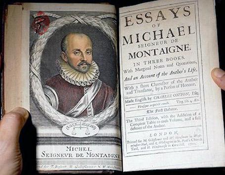 مقالات» [Essays]  میشل دو مونتنی [Michel de Montaigne]