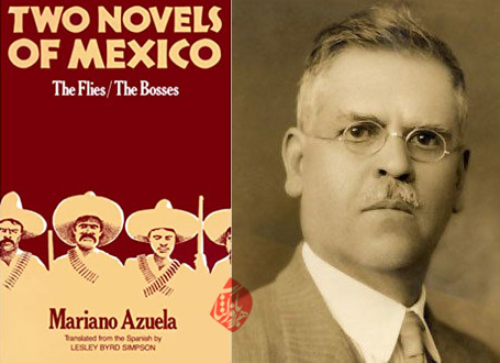 مگسها [Two novels of Mexico: The flies. The bosses] ماریانو آسوئلا [Mariano Azuela]