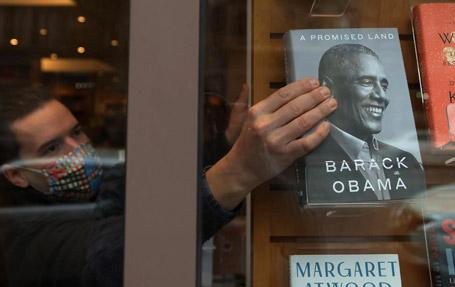 «سرزمین موعود» [A Promised Land] نوشته باراک اوباما [Obama, Barack]