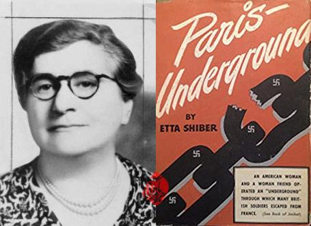 پاریس زیرزمینی [Paris-underground] خاطرات اِتا شایبر [Etta Shiber