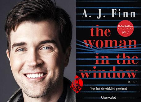 زن پشت پنجره» [The woman in the window] نوشته ای جی فین [A. J Finn]