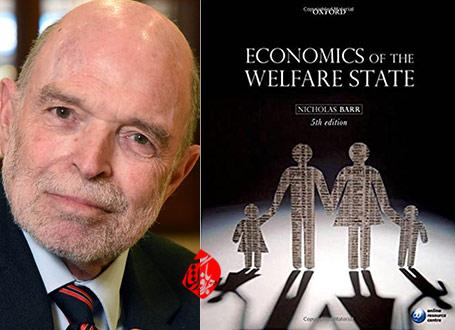 نظریه اقتصادی دولت» [Economics of the welfare state] به قلم نیکولاس بار[Nicholas Barr]