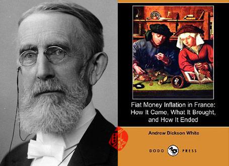 تورم و اخلاق» [Fiat money inflation in France; how it came, what it brought, and how it ended اندرو دیکسون وایت Andrew Dickson White]